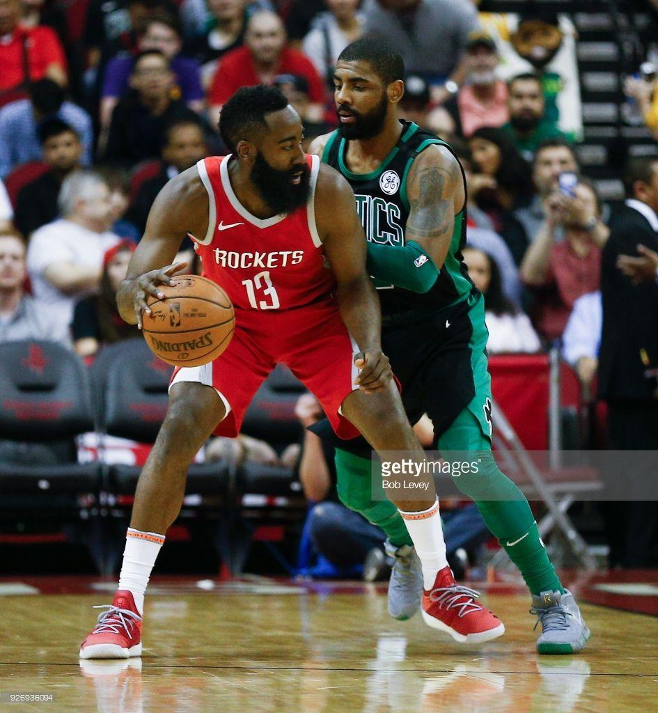 032942feebf8 News Photo   James Harden of the Houston Rockets backs in...