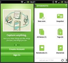 Nurses can use Evernote to create voice reminders, record