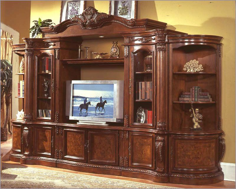 traditional entertainment wall unit mcfe6600 on wall units id=23804