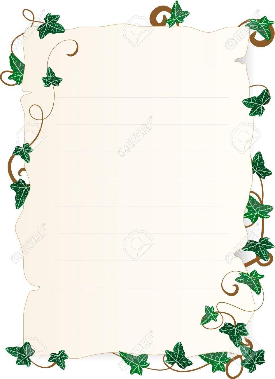 image result for ivy leaf border borders leaf border ivy leaf