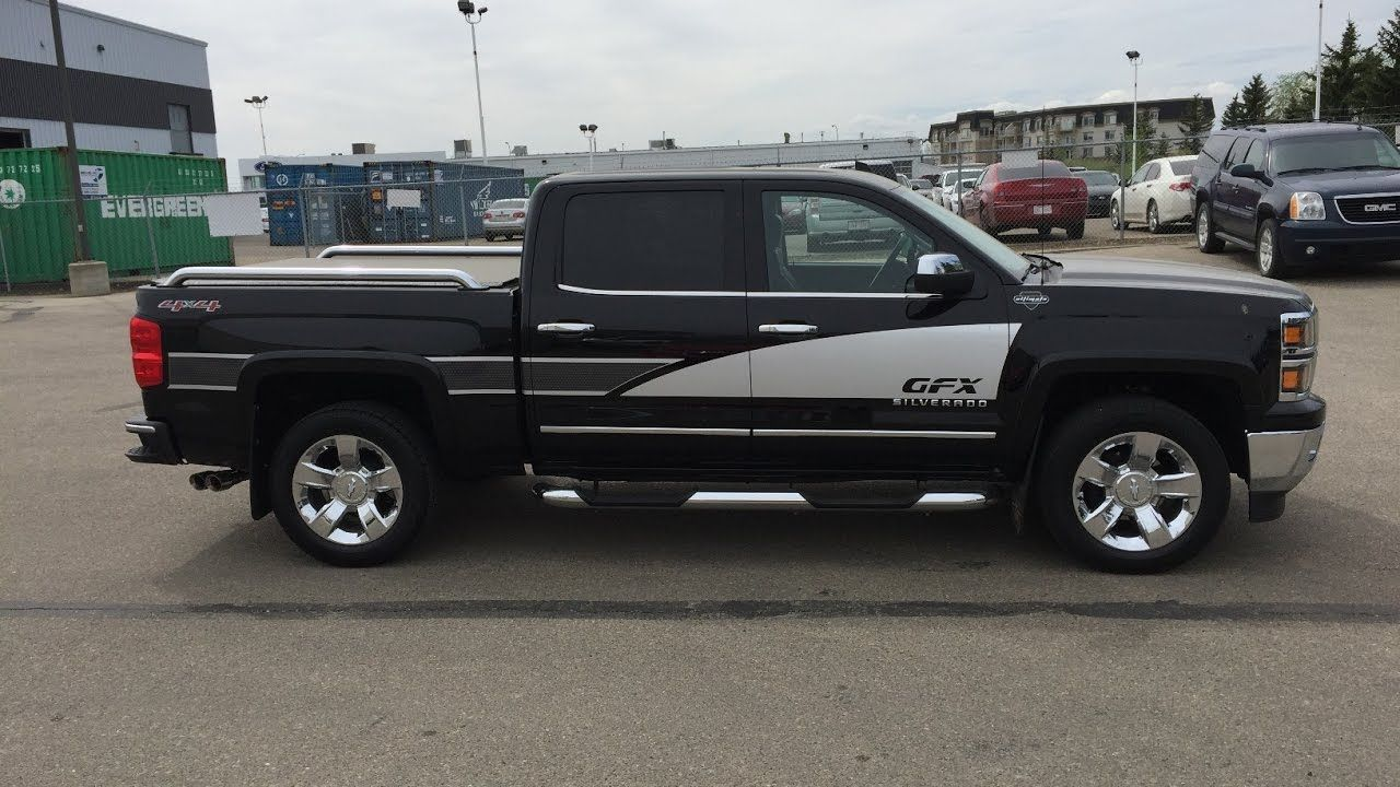 2015 Chevrolet Silverado 1500 LTZ FOR SALE GFX Accesories Crew