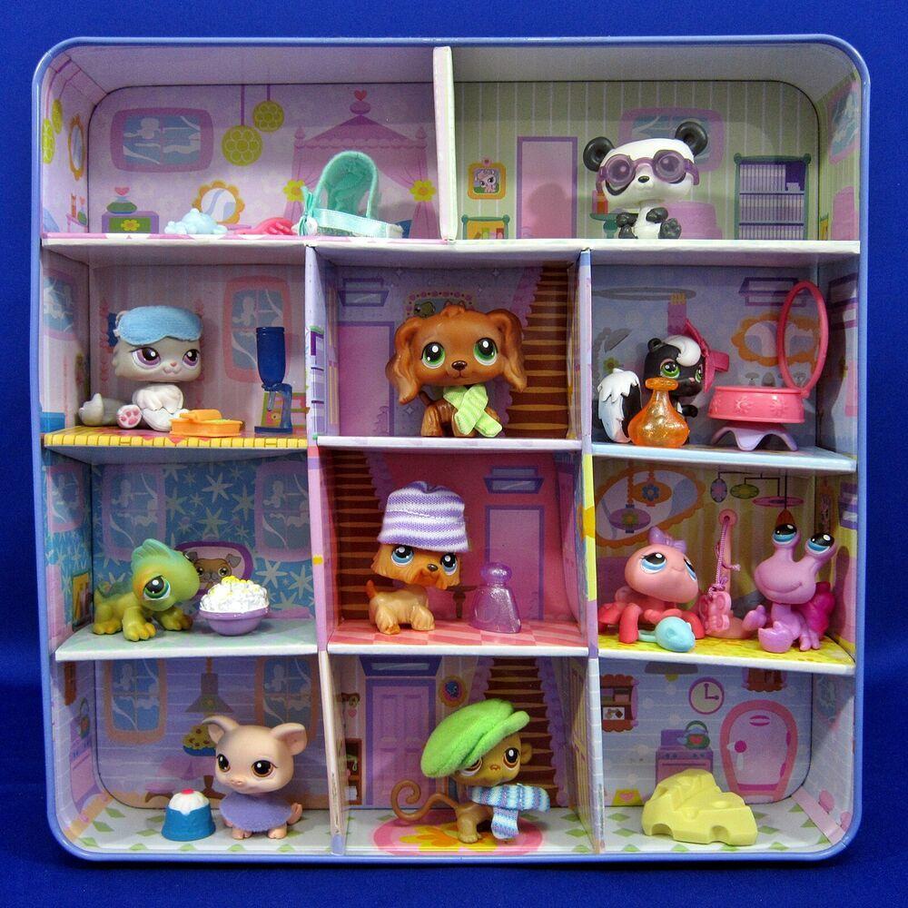 Littlest Pet Shop Target Exclusive Collectors Tin 2006