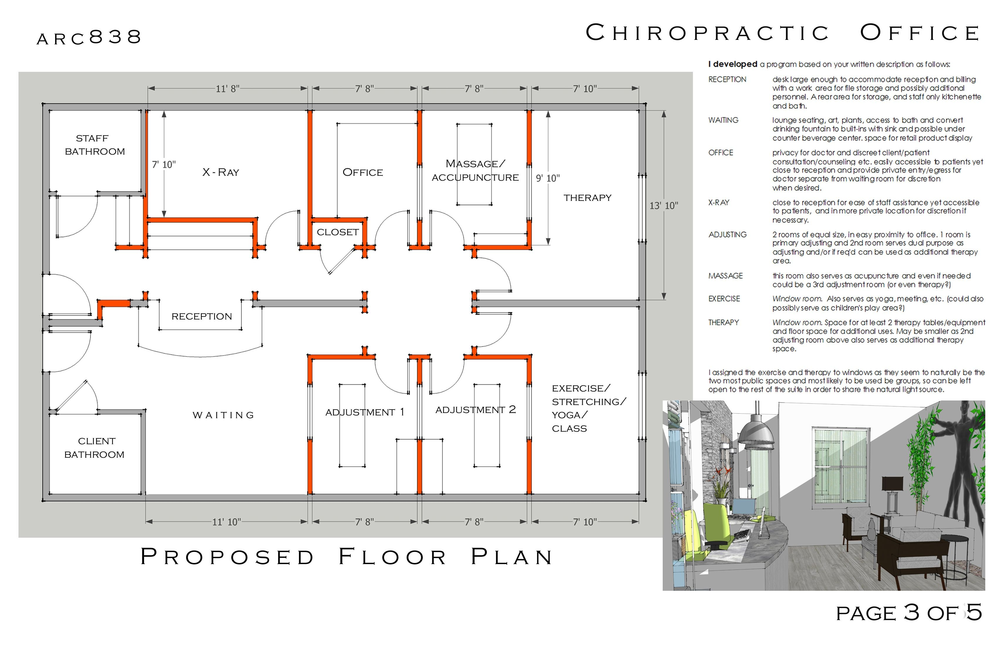 Amazing Nice Simple Layout · Chiropractic Office ...