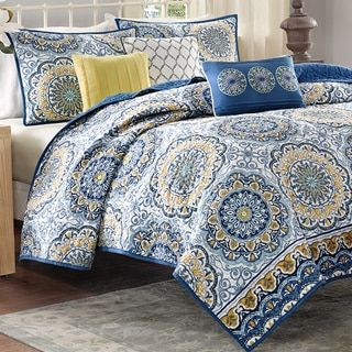 Madison Park Moraga 6-piece Coverlet Set | Overstock.com Shopping ... : overstock quilts king - Adamdwight.com