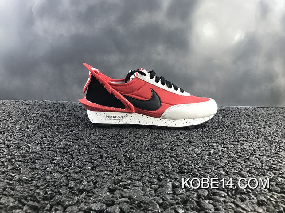 c7bb2cd9a4c4 Jun Takahashi Designer Undercover X Nike Waffle Racer Waffle Racer  Avant-Garde Jogging Shoes Red Black White Aa6853-106 New Year Deals