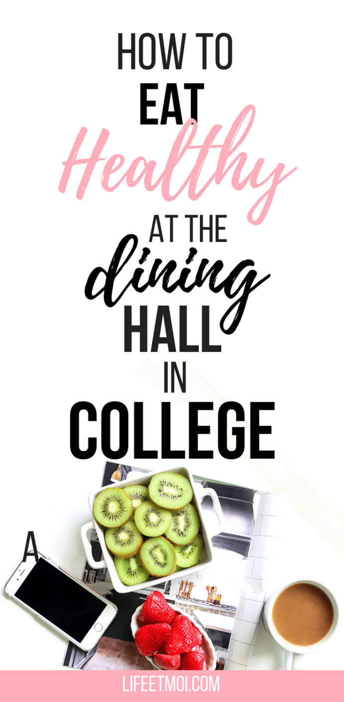 healthy diet plan college dining hall