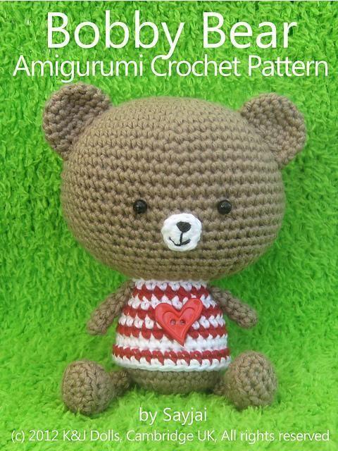 Bobby Bear Amigurumi Crochet | DIY | Pinterest | Inspiración