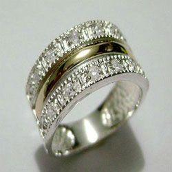 silver ring,made in Taxco Guerrero,Mexico...unique!!