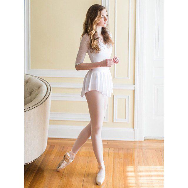 Photo of Ballet White SAB Skirt – Skirt – Dance Wear – White Lycra / Spa …