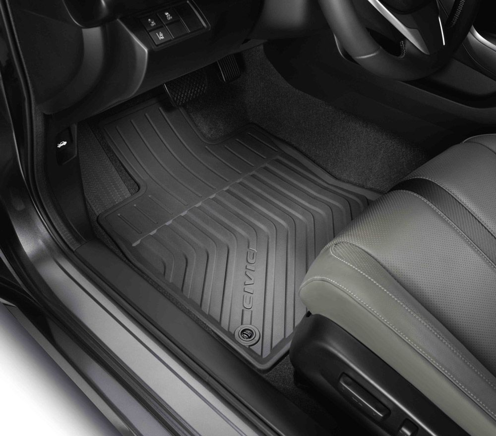 Honda All Season Mats Are Made Of Tough Thermoplastic To Provide