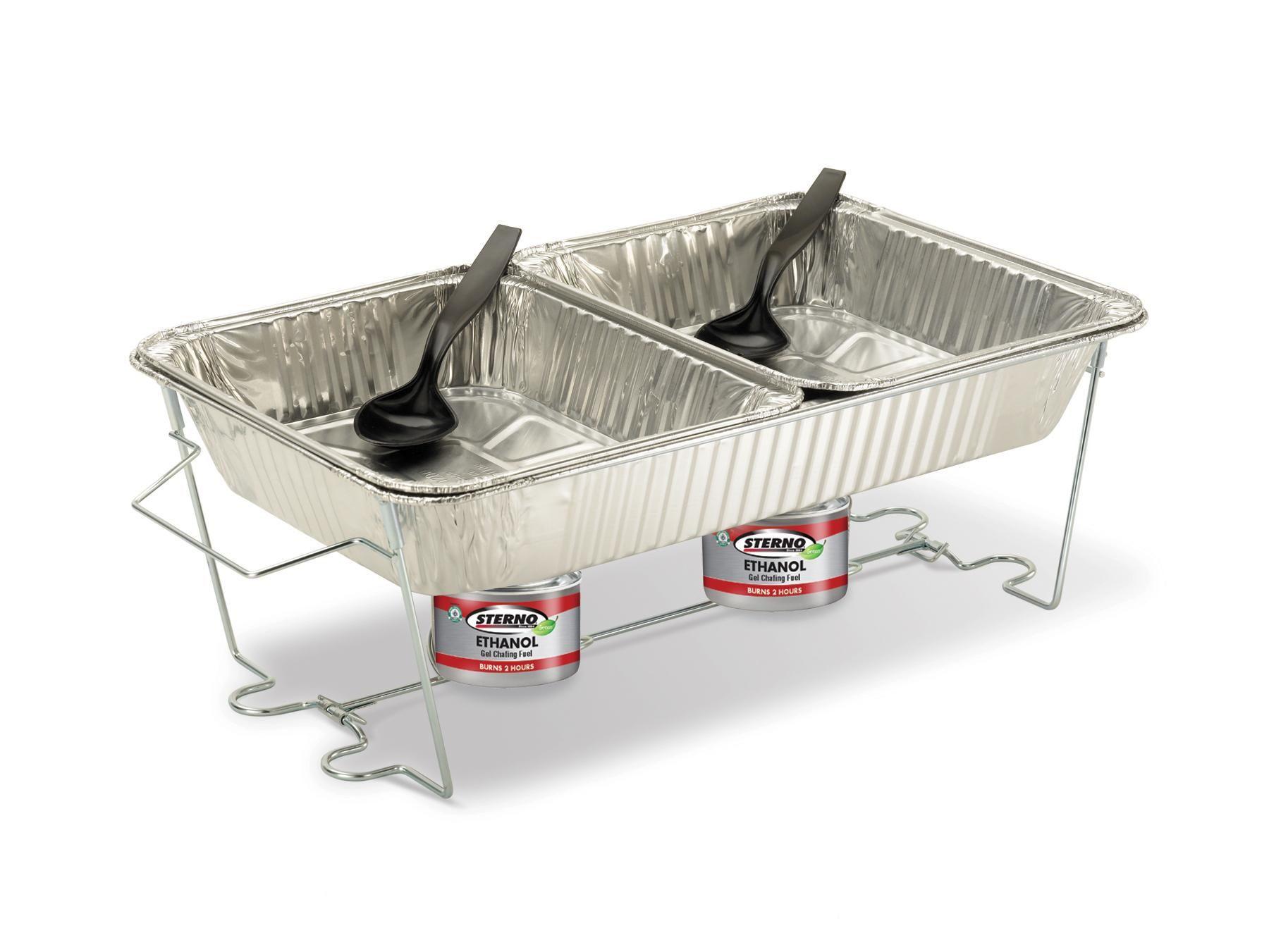 amazon com sterno pop up chafer set chafing dishes kitchen rh pinterest com sterno buffet servers sterno buffet servers