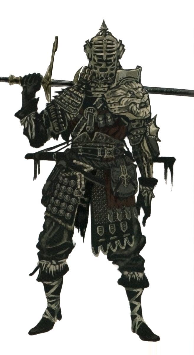Dark Souls Character Design Process : Fresh character design looks dangerous art of life