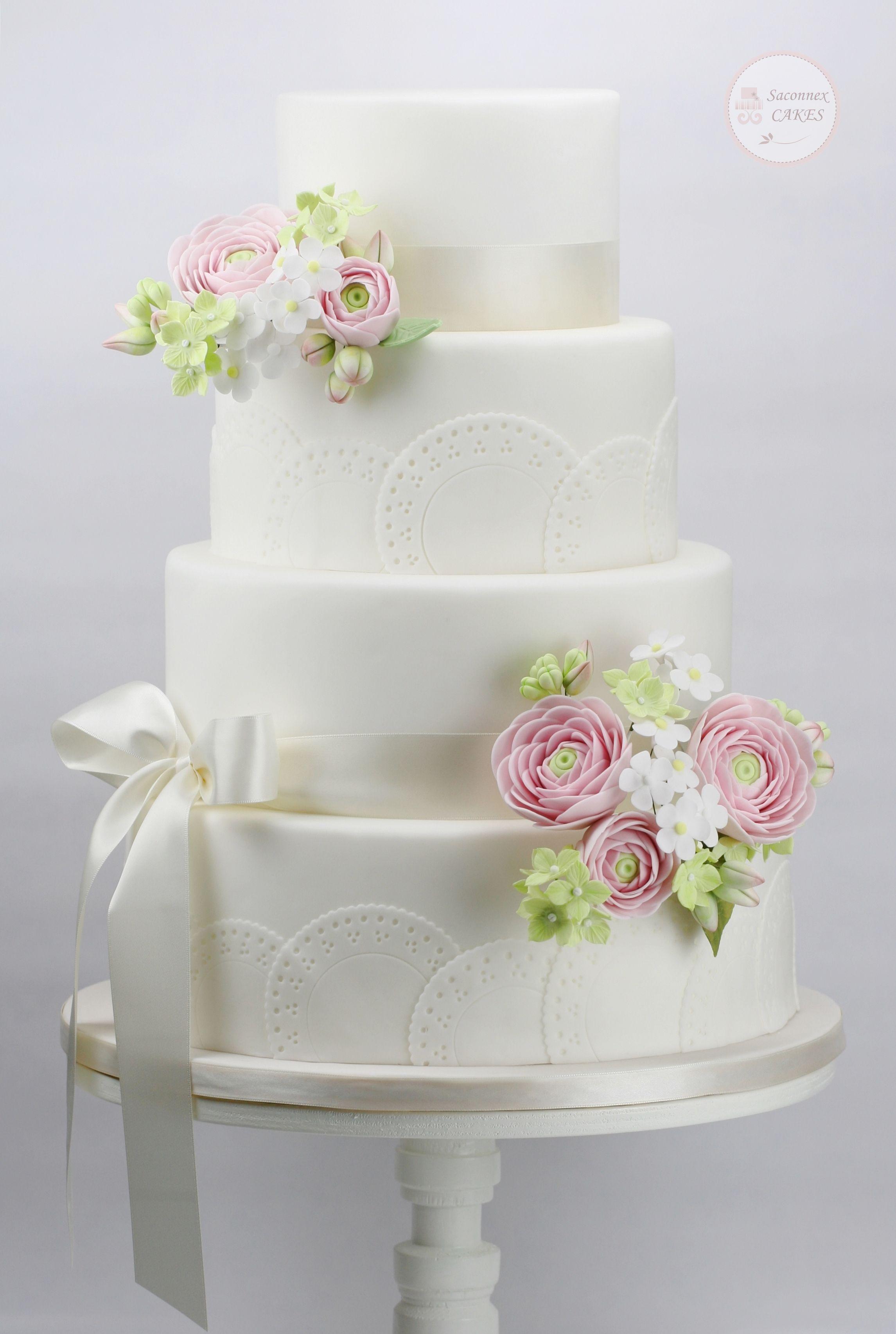 Murmur of spring wedding cakes in pinterest wedding cakes
