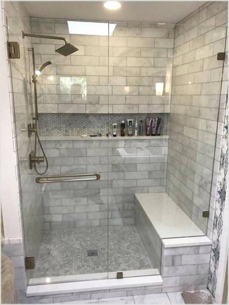 55 Unique Master Bathroom Ideas 2020 You Can Try Today Dovenda Modern Master Bathroom Bathroom Remodel Shower Bathrooms Remodel