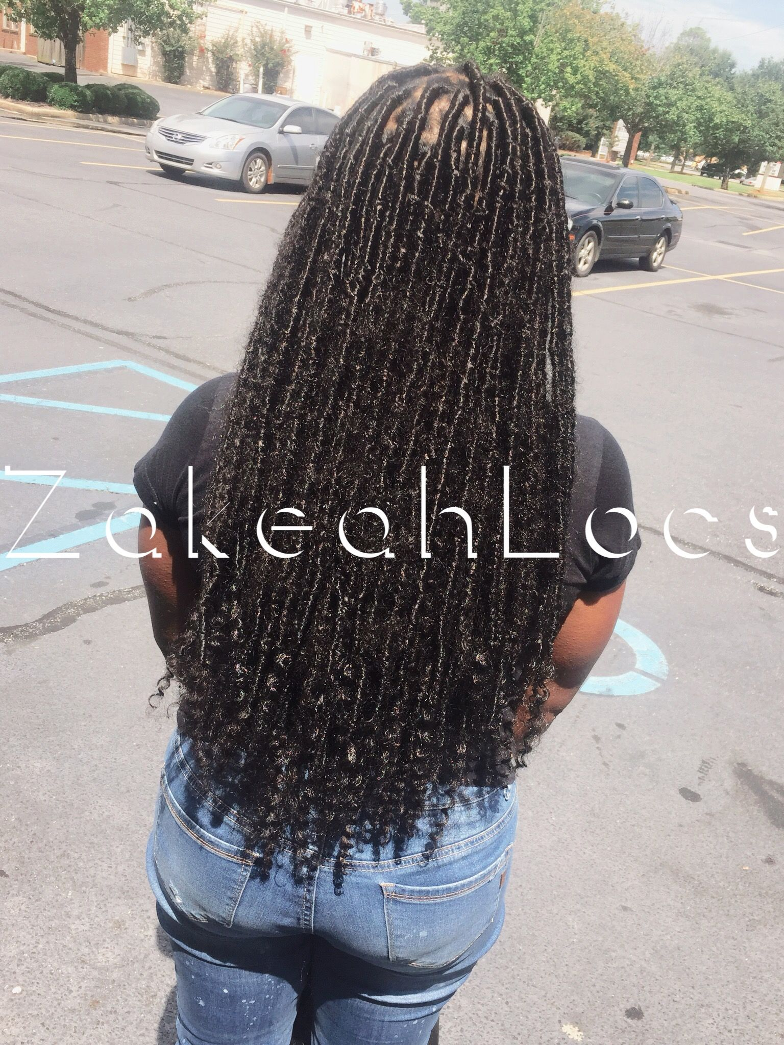 Distress Locs Hair Styles Long Hair Styles