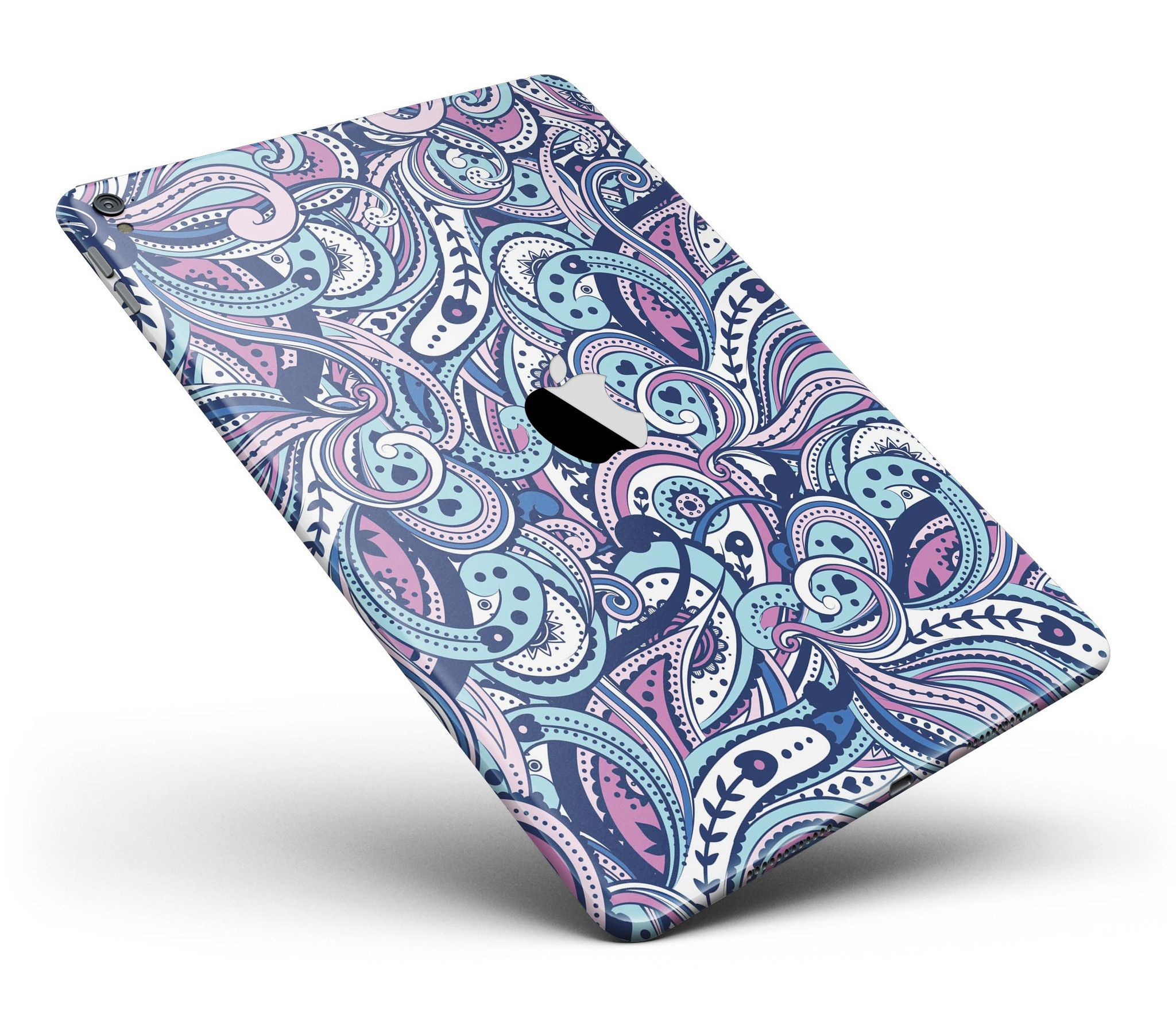 """Vibrant Purple Toned Sproutaneous Full Body Skin for the iPad Pro (12.9"""" or 9.7"""" available) from DesignSkinz"""