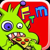 Feed The Monster This Award Winning App Is A Funny Game That Allows Children To Feed Monsters And Have Food Fights The Clean Wa Kids App Feed The Monster App
