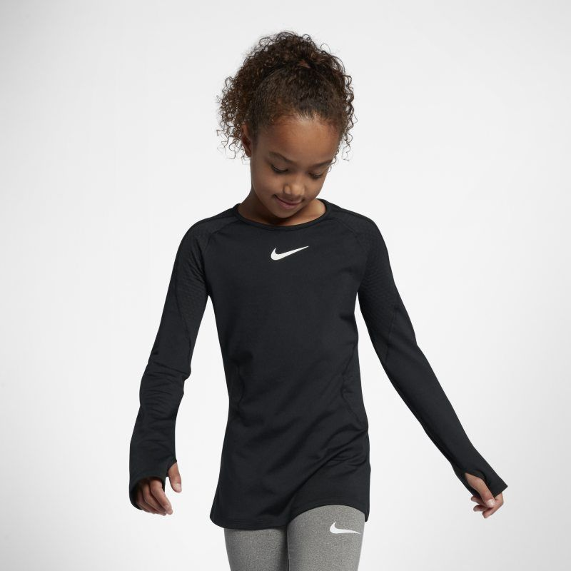 11e03fc6b3 Pro Warm Older Kids' (Girls') Long-Sleeve Training Top in 2019 ...