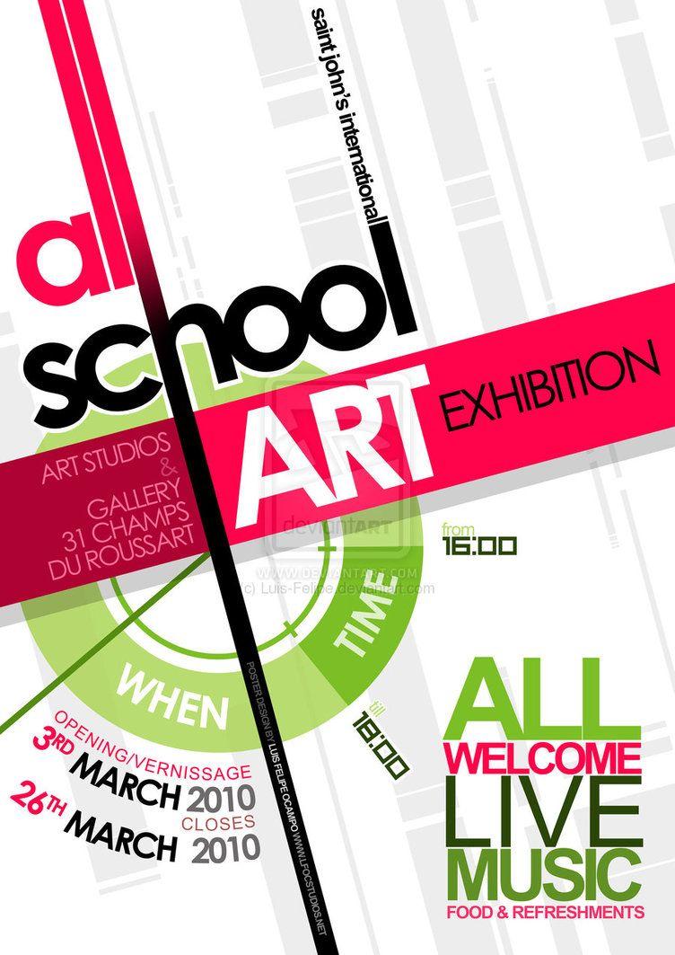 Poster design for school - Poster Design