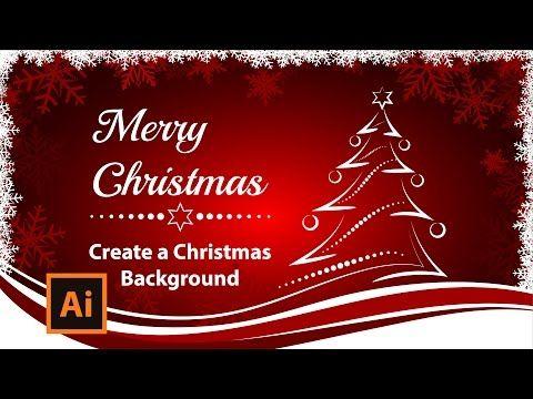 Illustrator Tutorial How To Create A Christmas Card Youtube Create Christmas Cards Illustrator Tutorials Adobe Illustrator Graphic Design