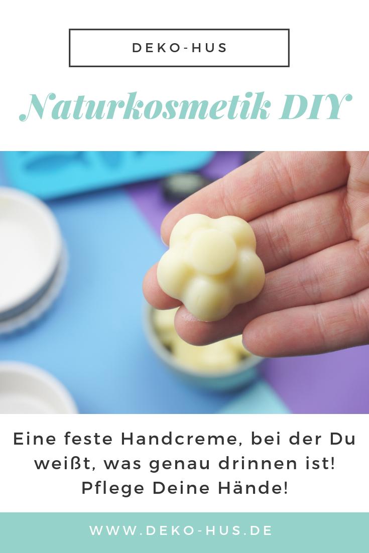Handcreme selber machen aus natürlichen Zutaten #homemadeskincare