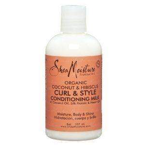 Shea Moisture Organic Coconuthibiscus Curl Style Milk Pack of 3 * Check out this great product.