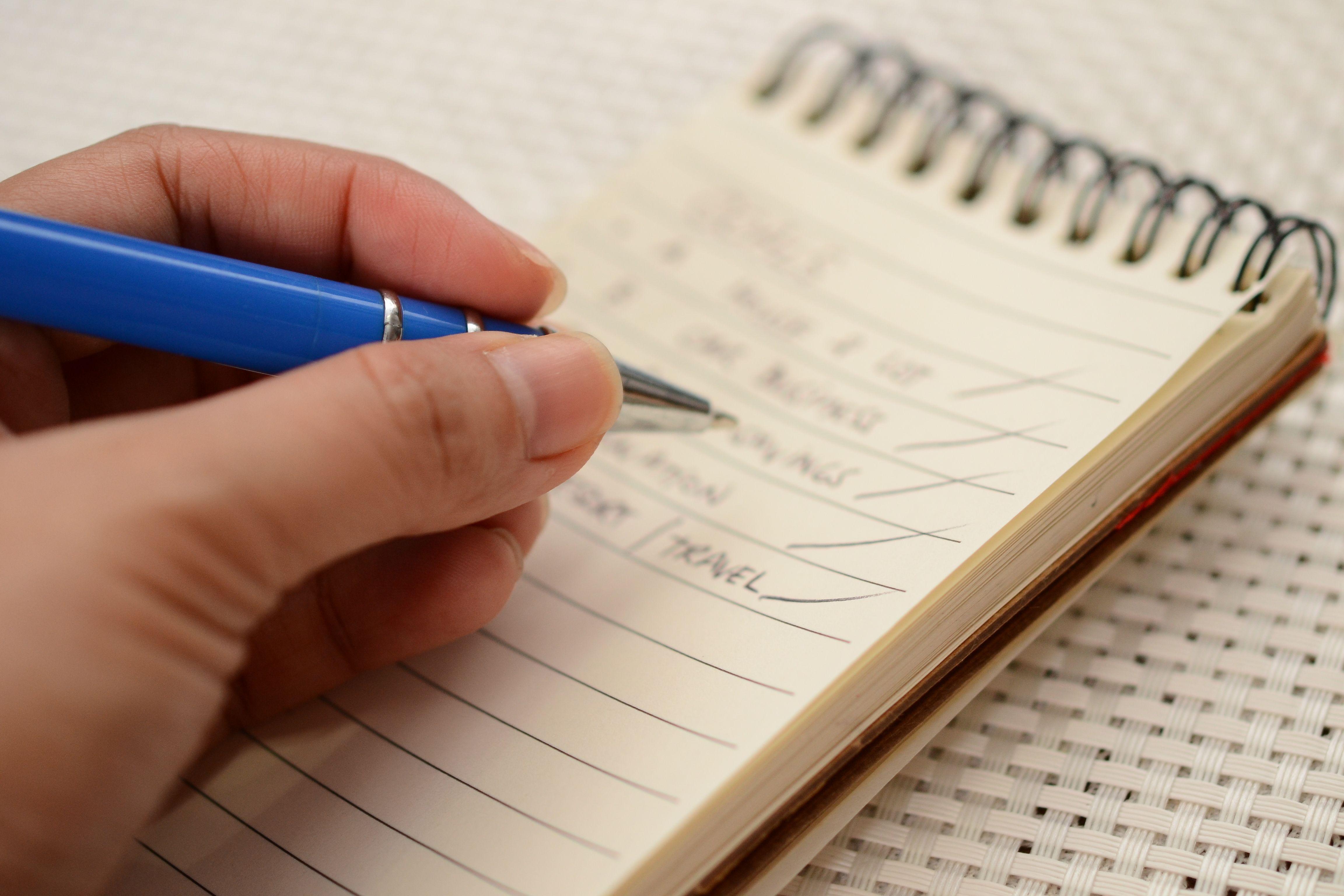 Write A Five Year Plan