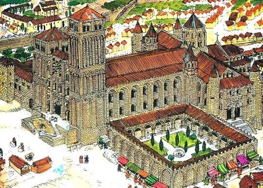 Catedral de santiago de compostela oficina del peregrino for Oficinas de correos en santiago de compostela