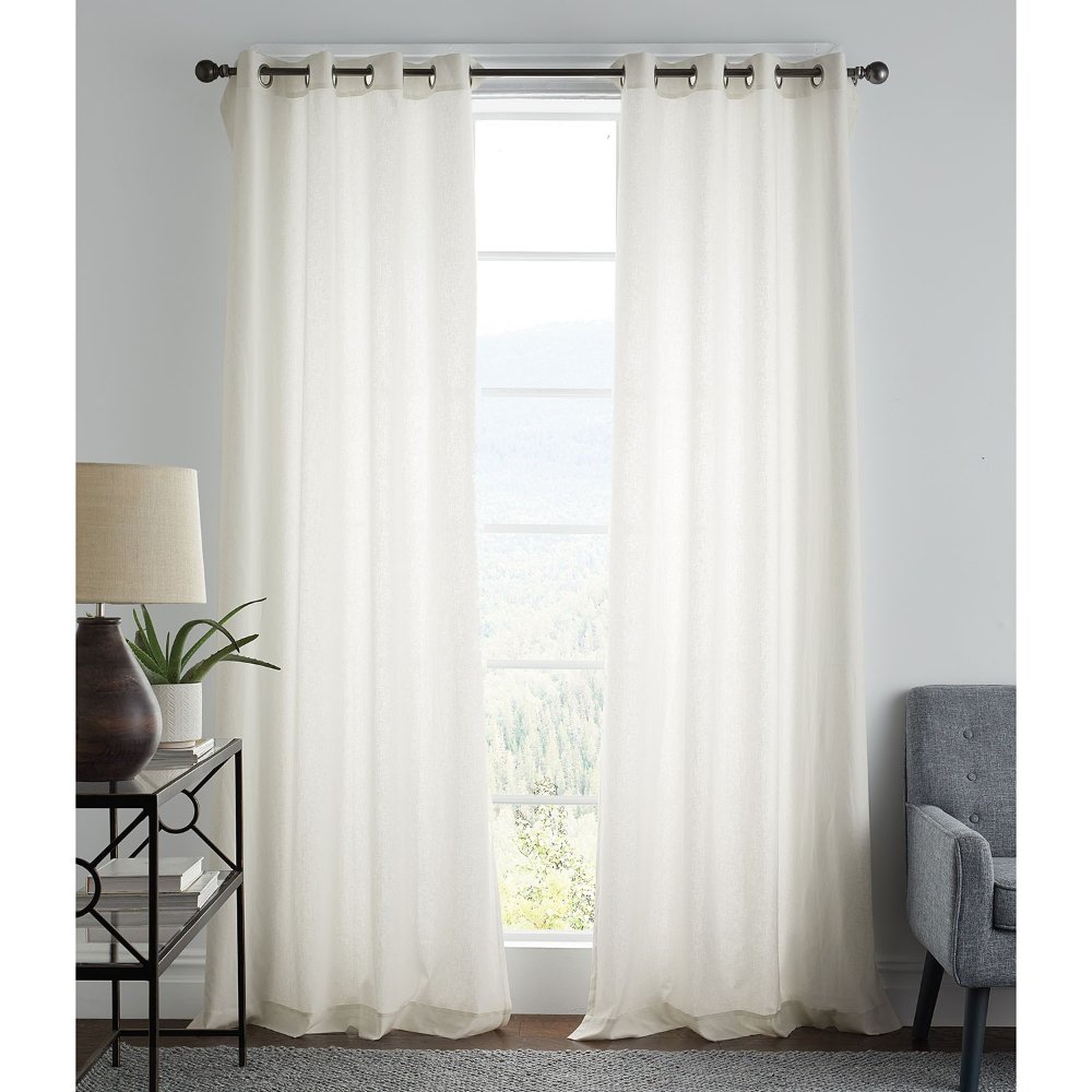Cotton Linen Curtain Panels The Company Store In 2020 With