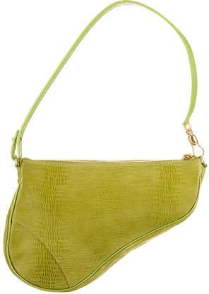 4964a9f8dba Christian Dior Lizard Saddle Bag on shopstyle.com | COLOUR - lemons ...