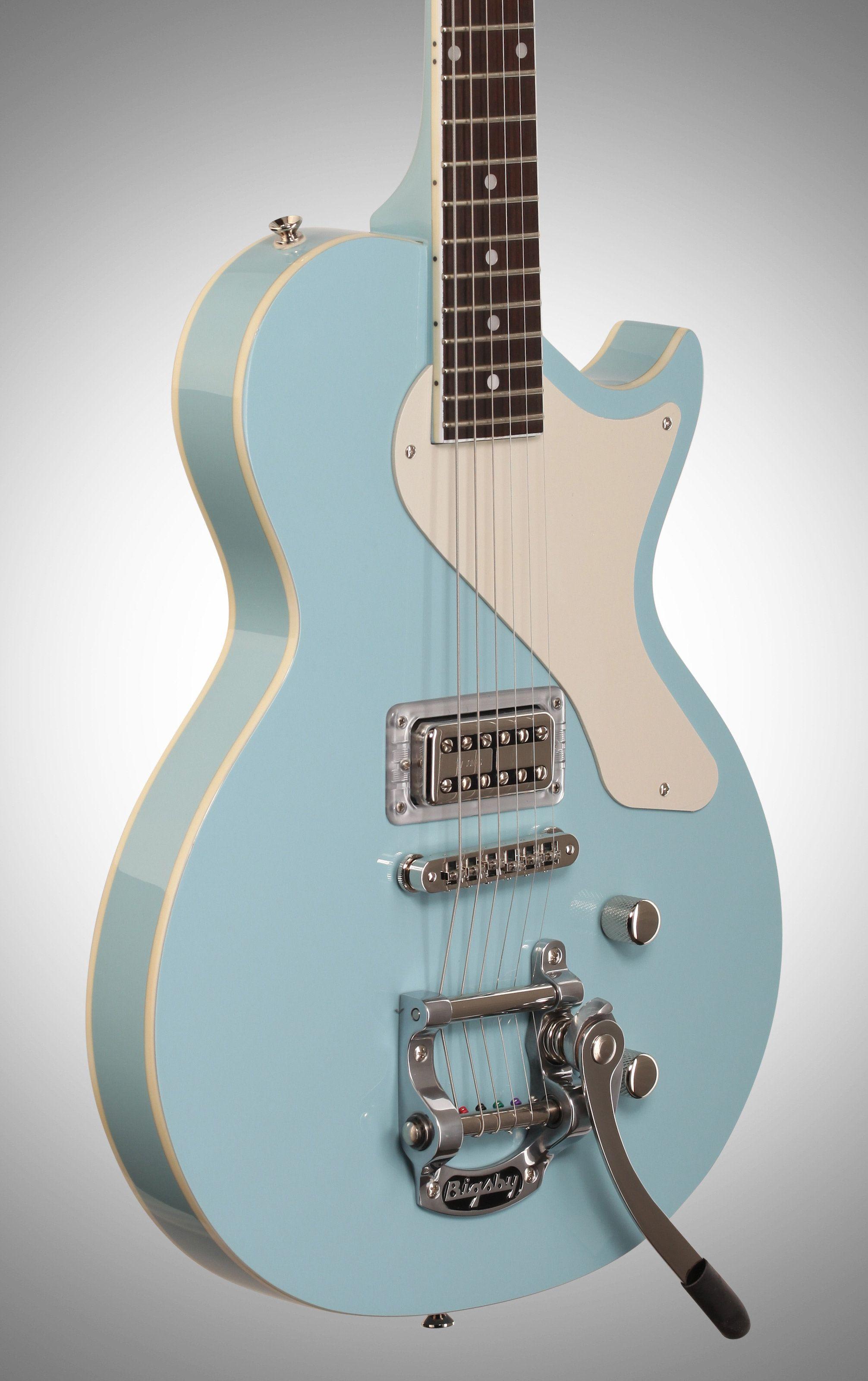 AXL USA Bel Air Electric Guitar Light Blue