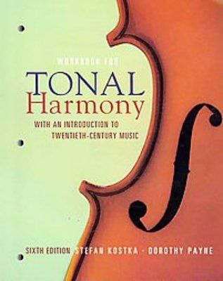 Required Text for AP Music Theory; Tonal Harmony ISBN ...