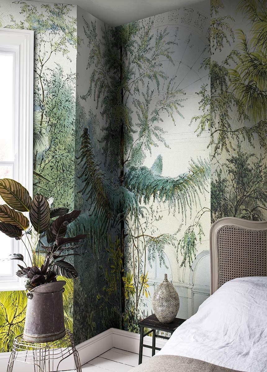 'Winter Garden Vienna' Wallpaper Mural SurfaceView