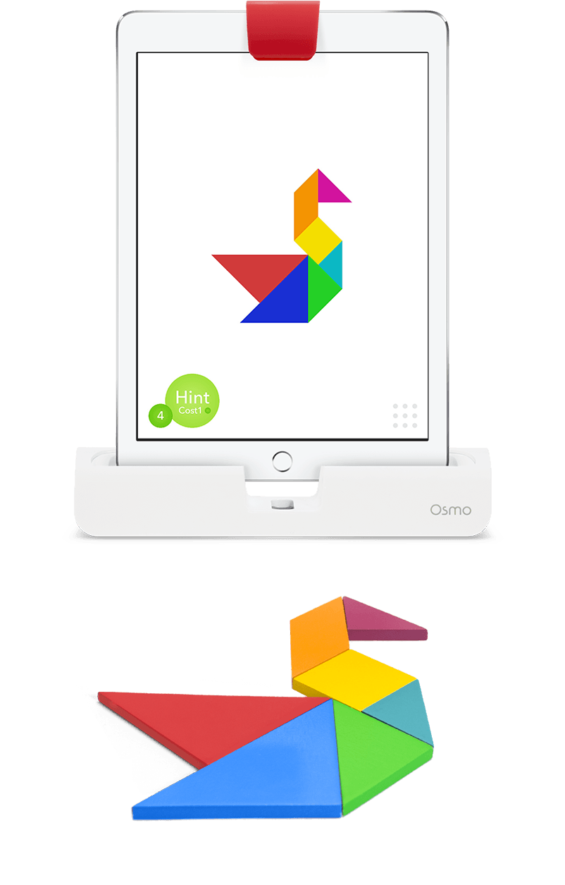 Play Tangram on the iPad with Osmo! Arrange real tangible ...