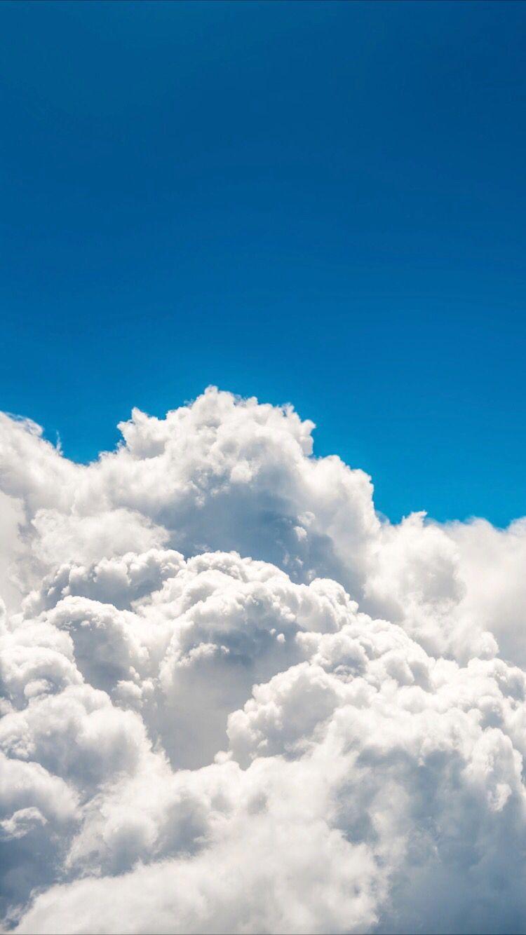 Cloudy Wallpaper Sky Aesthetic Iphone Wallpaper Sky Blue Sky Wallpaper