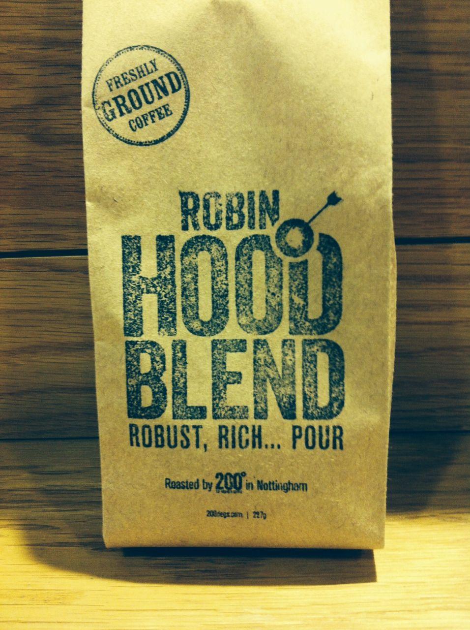 Robin Hood Coffee £5.99 + P&P 200 Degrees