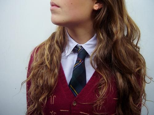 School uniform.