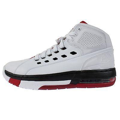 f178497ce8d78c Nike Jordan Ol  School Mens 317223-112 White Red Black Basketball Shoes  Size 9