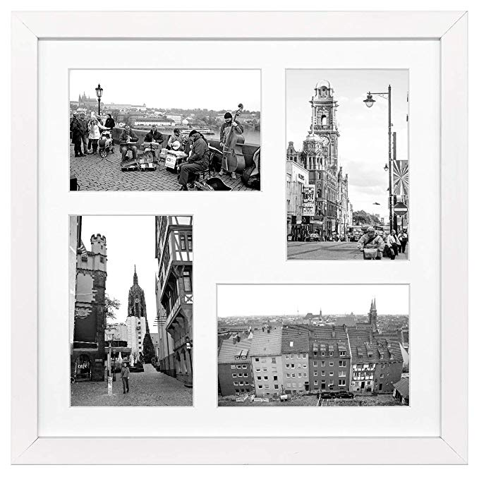 Framatic Modern 12x12 Inch Frame Matted For 10x10 Inch Photo Black 302196 Continue To The Product At The Imag Frame Matting Modern Frames Picture Frame Mat