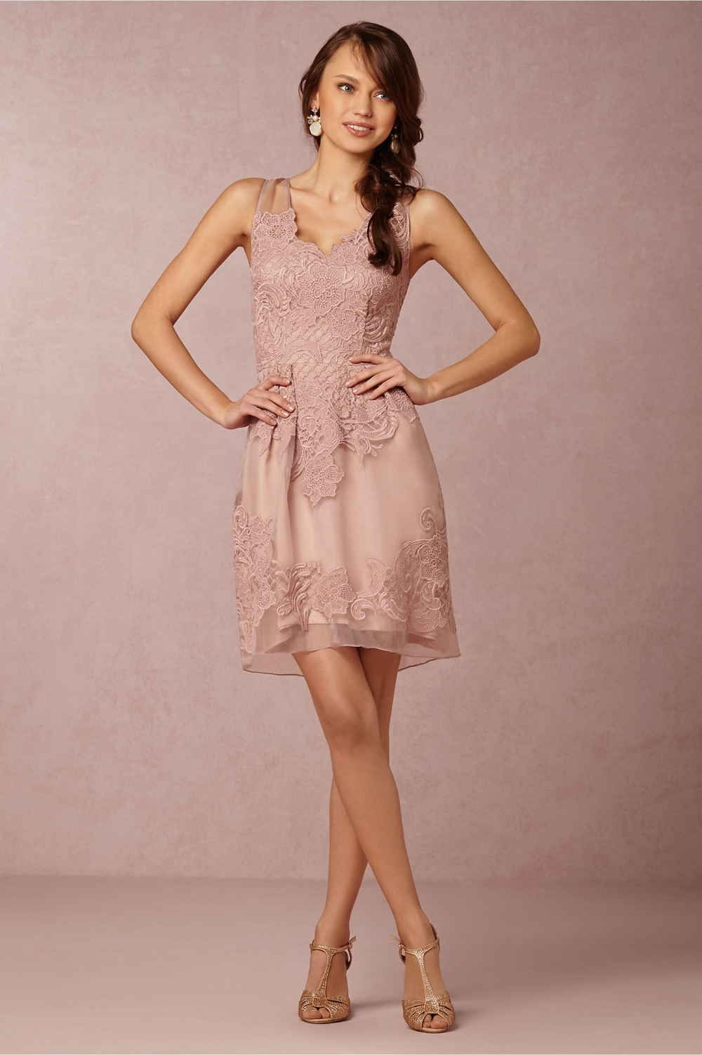 BHLDN Blush Bridesmaid Dresses | Pinterest | Vestiditos