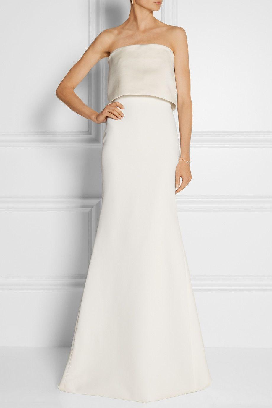 Victoria Beckham Ivory Silk Gown Victoria Beckham Outfits Victoria Beckham Dress Victoria Dress [ 1380 x 920 Pixel ]