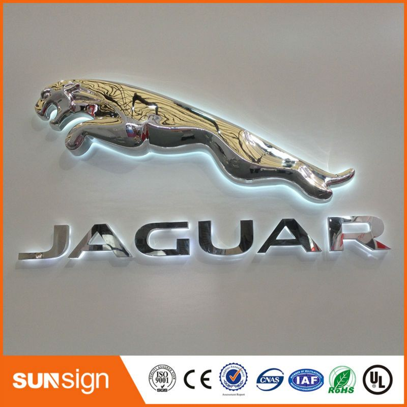 Custom Illuminated LED Car Logo And Their Name Electronic Signs - Signs of cars with names