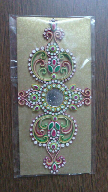 Paper quilling patterns envelopes
