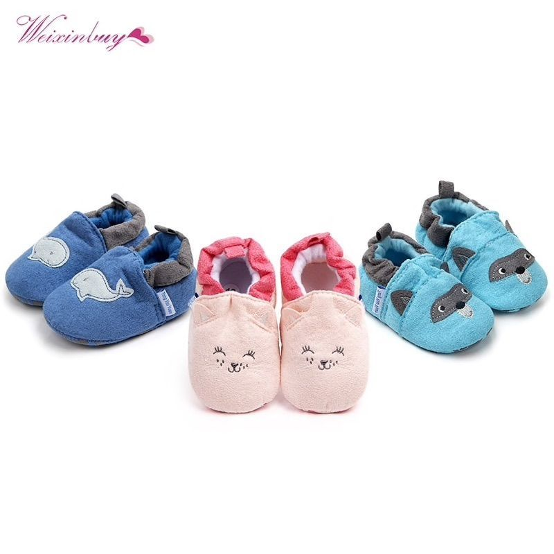 97dbfeabc5771 Fashion New Spring Autumn Winter Baby Shoes Girls Boy First Walkers  Slippers Newborn Baby Girl Crib Shoes Footwear