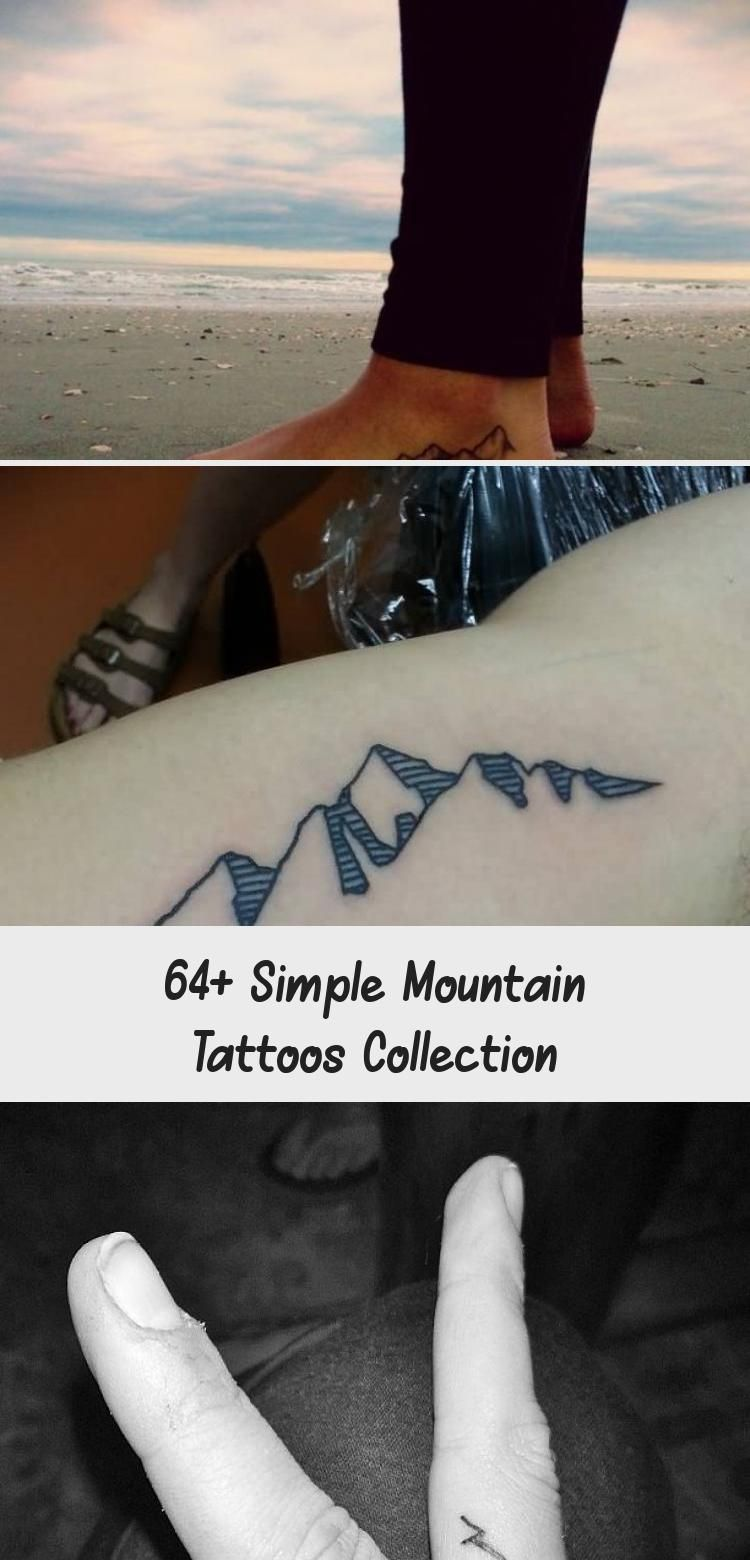 Photo of 64+ Simple Mountain Tattoos Collection – Tattoos