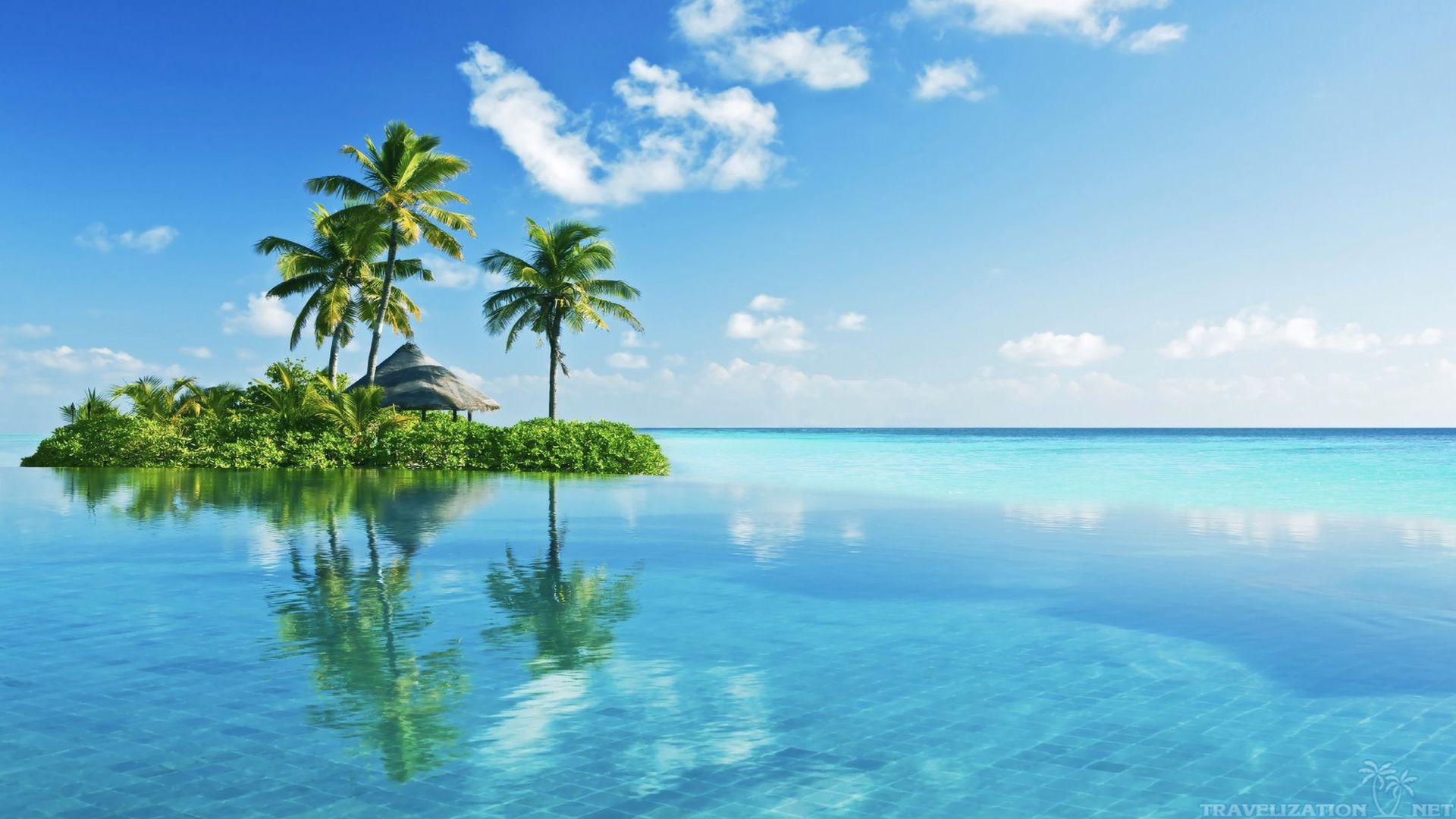 Beautiful Tropical Islands Hd 19201080 Island Wallpaper Tropical Islands Tropical Beach Resorts