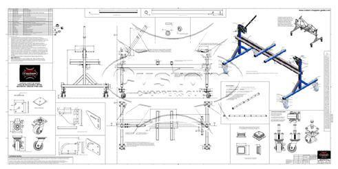 motorcycle frame jig blue prints | Bike Stuff | Pinterest ...