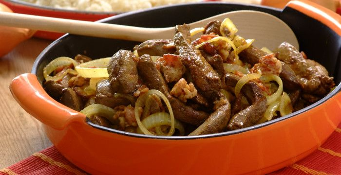 Quick Ox Liver With Bacon And Onionsperfect Sishebo Liver And Onions Liver Recipes Quick Dishes