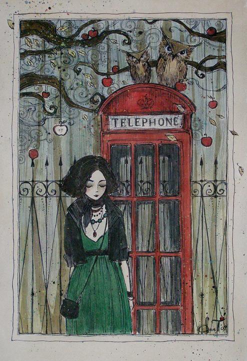 'Telephone' by Ann Weaver