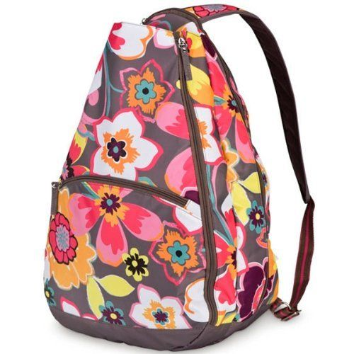 All For Color Blooming Bunch Tennis Backpack By 54 99 Hit The